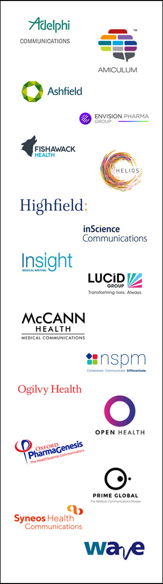 NetworkPharma.tv is supported by the MedComms Networking Sponsors
